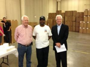 Skip Woodall (L) CJ McCennon (Center) and Blake Woodall (R)